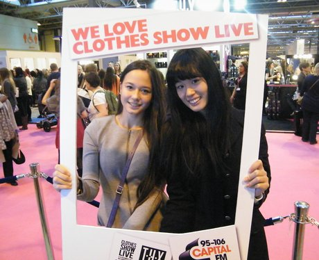 Clothes Show Live: Shake it like a polaroid pictur
