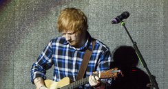 Ed Sheeran at the Jingle Bell Ball 2014