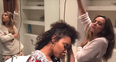 Little Mix Beyonce 7/11 parody video still