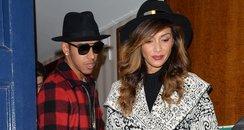 Lewis Hamilton and Nicole Scherzinger Matching Hat