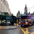 George Square bin lorry crash