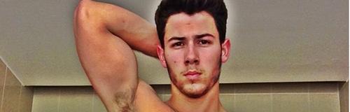 Nick Jonas Topless