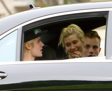 Justin Bieber takes Hailey Baldwin for lunch