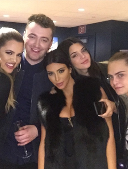 Kardashians, Sam Smith and Cara Delevingne