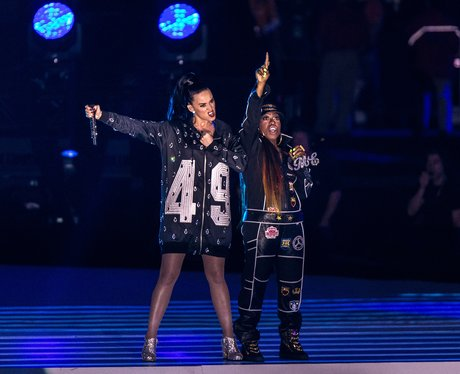 Katy Perry and Miss Elliot Super Bowl 2015