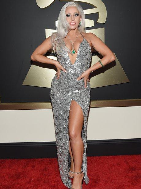 Lady Gaga at the Grammy Awards 2015
