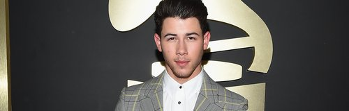 Nick Jones arrives at the Grammy Awards 2015