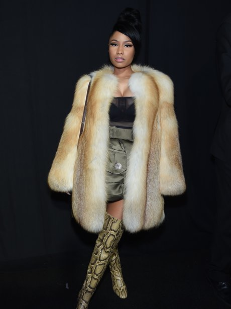 Nicki Minaj Fashion Week 2015