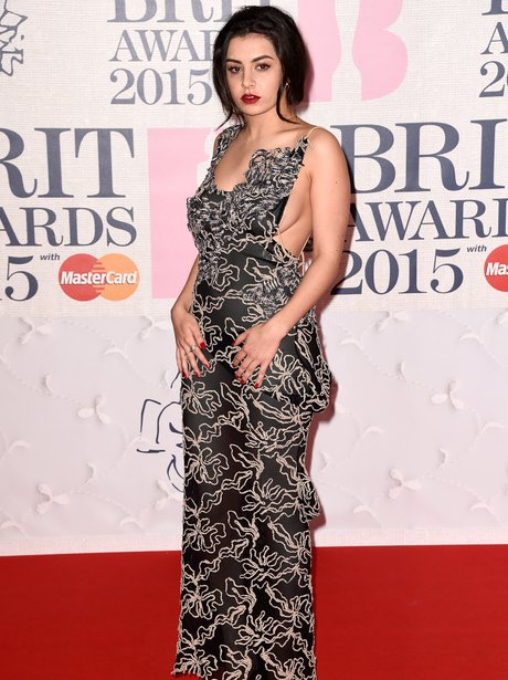 Charli XCX BRIT Awards 2015 Red Carpet