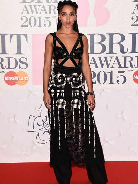 FKA Twigs at The Brit Awards 2015