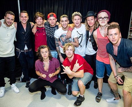 One Direction and McBusted
