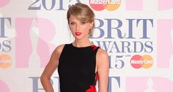 Taylor Swift BRIT Awards 2015 Red Carpet