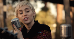 Miley Cyrus Happy Hippie Backyard Session