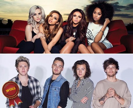 One Direction V. Little Mix