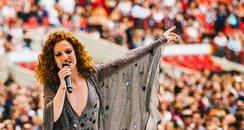 Jess Glynne Live Summertime Ball 2015