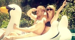 Taylor Swift and Calvin Harris together