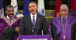 Obama Amazing Grace