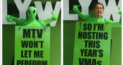 Miley Cyrus MTV VMA announcement Instagram