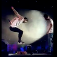 Louis Tomlinson Jumping On Naughty Boy Piñata