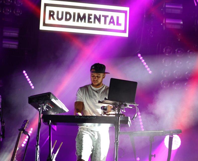Rudimental live at Fusion Festival 2015