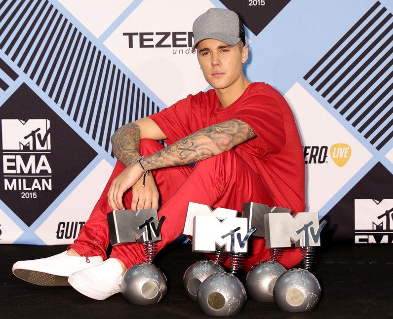 Justin Bieber MTV EMA's 2015 Awards