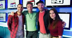 Marvin Humes Kat Shoob Coldplay