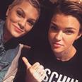 Jessie J and Ruby Rose instagram