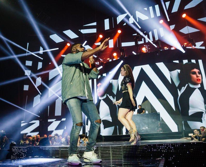 Tinie Tempah and Katy B Jingle Bell Ball 2015 Live