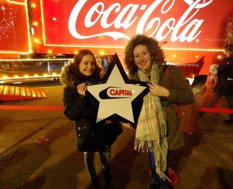 Coca Cola Truck Tour Huddersfield