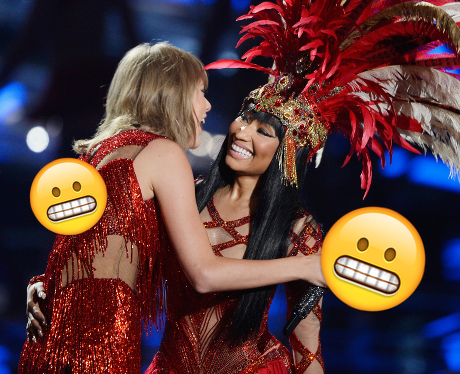 Taylor Swift and Nicki Minaj Emoji