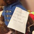 Teddy bears refugees leicester