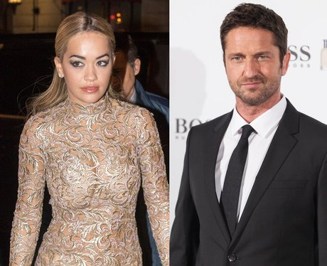 Gerard Butler & Rita Ora Dating? They Have Hot Hookup After Night Out ...