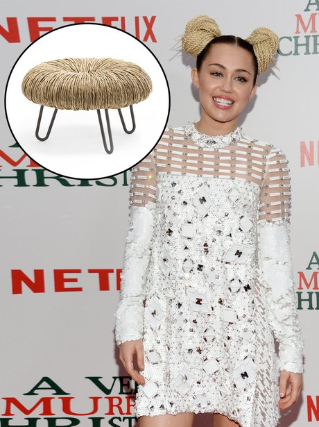 Celebs that look like furniture Gallery Miley Cyru