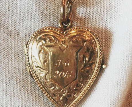 Taylor Swift Calvin Harris Locket