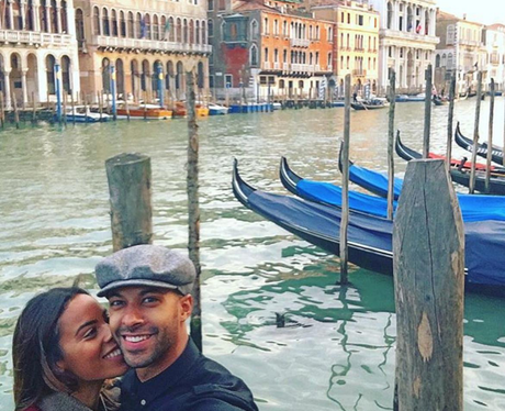 Marvin and Rochelle Humes in Venice