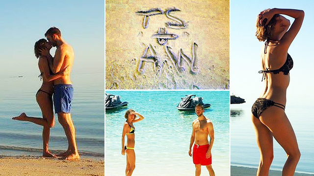 Taylor Swift & Calvin Harris' Photo Album… Our 19 Fave Pics Of Their Romance One... - Capital