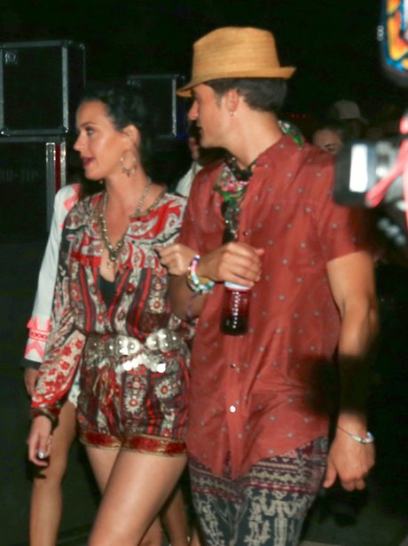 Coachella 2016 Katy Perry and Orlando Bloom