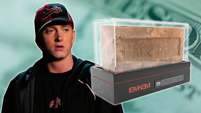 Eminem Is Selling ACTUAL Bricks From His Childhood Home... Because Why Not?!