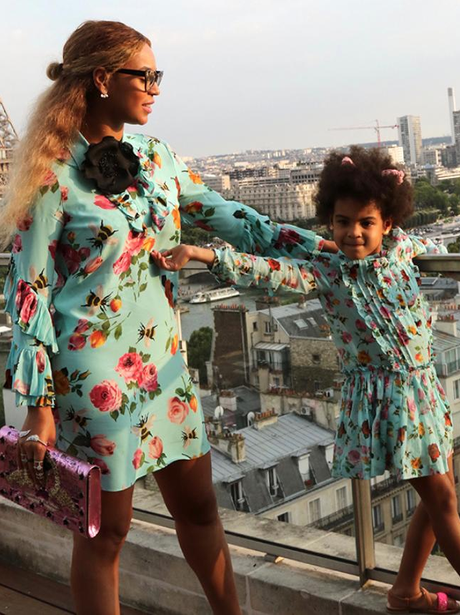 Fashion Moments 30th July Beyonce & Blue-Ivy