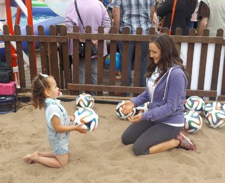 Cardiff Bay Beach FAW Trust activity