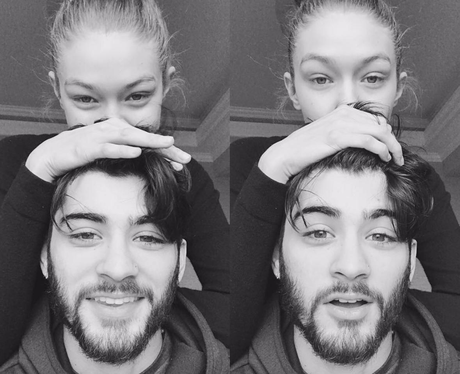 Gigi Hadid and Zayn Malik cosy up for sweet photos