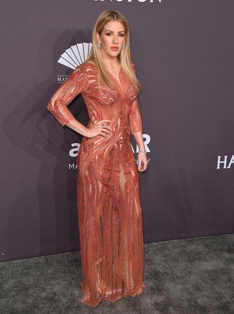 Ellie Goulding at the amFAR Awards