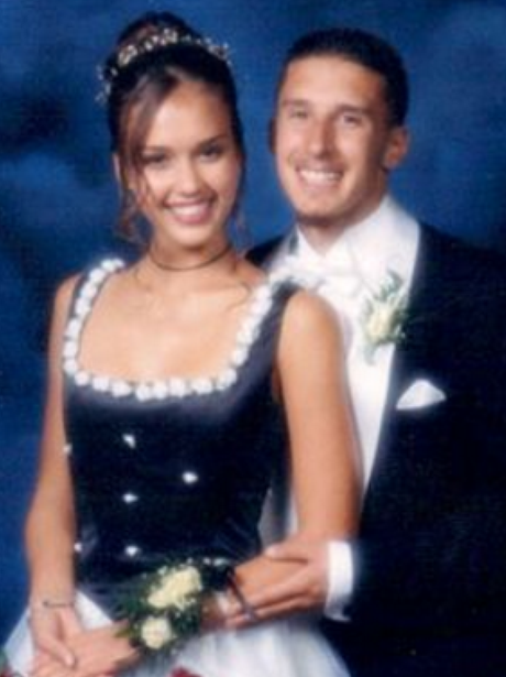 Prom Throwback Photos Jessica Alba