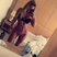 Image 10: Holly Hagan shows off the results of her rigorous
