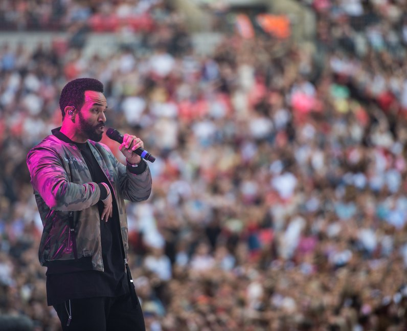 Sigala and Craig David at the Summertime Ball 2017