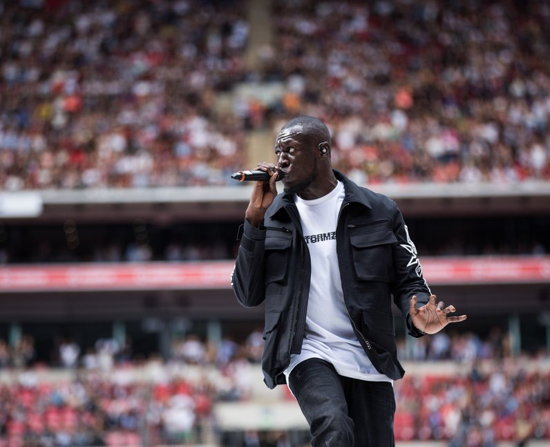 Stormzy at the Summertime Ball 2017