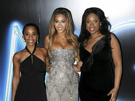 Beyonce at the UK premiere of Dreamgirls